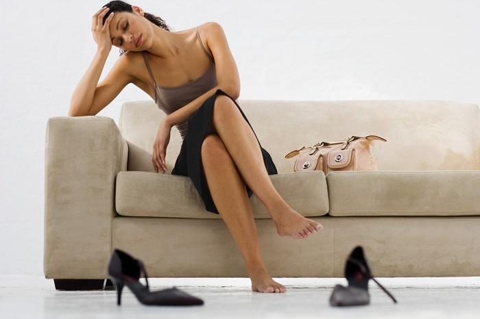 усталость женщины