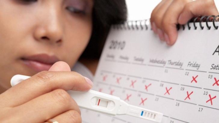 сбой менструального цикла